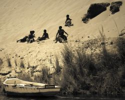 Kids of the nile by Nile-Paparazzi