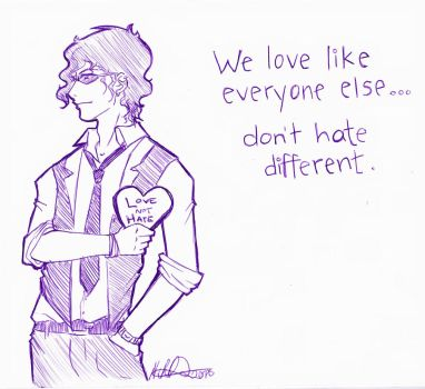 Don't hate different by Natchan84