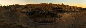 The Roman Theater of Amman by ashamandour