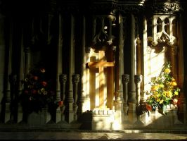 Lacock Church Alter by tartanink
