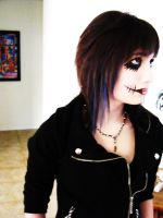 Andy Sixx Makeup by Prosecutie91