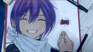 my drawing yato. by PRIMIERRAD