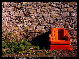 Orange Couch by jb00bs