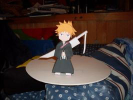 Ichigo Papercraft by AZBY