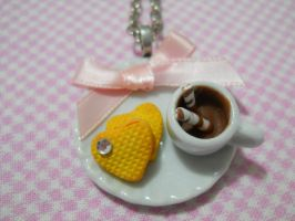Sweet Breakfast Necklace by MarzapanArt