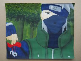 Kakashi and the bell test by Sophieanime