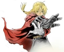 Edward Elric color by KokoroHeiwa
