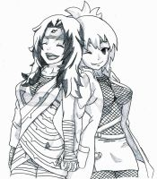 Anko and Kurenai- Good Times by angelmacysuperman