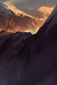 Mountains 2 by jamajurabaev