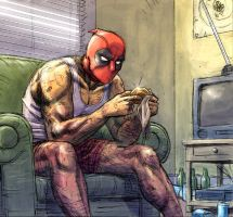 Deadpool 50 by ReillyBrown