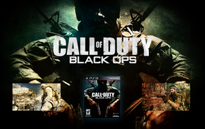 CoD Black Ops Launch Wallpaper by CrossDominatriX5