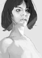 Androgynous Female 2 by meatfortress