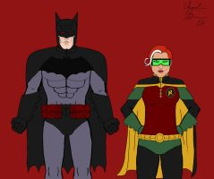 DCNow - Batman and Robin by Riddick99