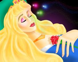 Sleeping Beauty - Coloured by LittleMissJo