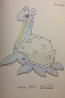 December 23, Favorite Single Stage Pokemon: Lapras by mashonem