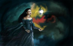 Luthien's Song by akirk