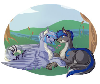 .:Commission:. Sharon and Urban by Amazing-ArtSong