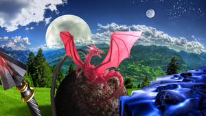 Domain of the Red Dragon by jesus-at-art