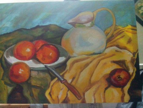Still Life Oil Painting by AnnaWeison