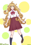 Tsumugi Inuzuka Teenager (Amaama to Inazuma) by ChamDraws