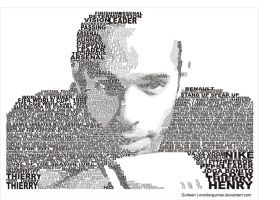 Thierry Henry by wondergunner