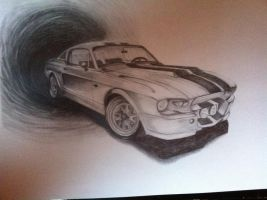mustang gt 500 by DYSASTA