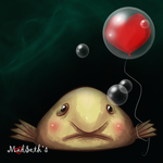 Bob, the Blobfish by Hoshiko91