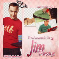 Jim Parsons Png Pack / Sheldon Cooper by mechulkedi