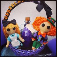 Alice and the Mad Hatter by ThisisHalloweenTown