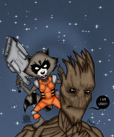 Guardians of the Galaxy by Blackmoonrose13