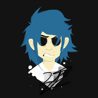 2D - Gorillaz by Sniperisawesome