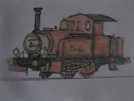 Lady the Magical engine by TheguyfromNorramby