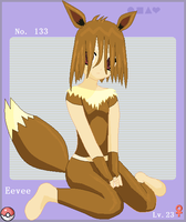 . Eevee Girl . by Archdemon-Of-Avalon