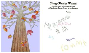 Holiday Card Project by FamiliarOddlings