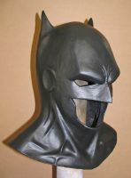 Batman cowl by Vermithrax1