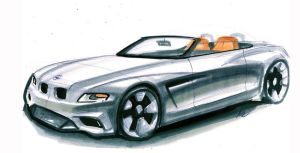 BMW Rendering by MartinEDesign