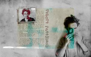 Robert Pattinson wallpaper III by artahh