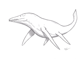 Kronosaurus queenslandicus by KingEdmarka