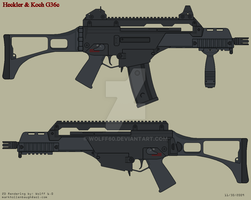 Heckler and Koch G36c by Wolff60