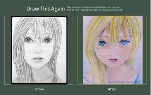 Namine - Draw This Again Challenge by SeaSpryte