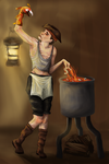 Crazy Pirate Cook by Ruineth