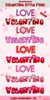 Valentine Style Pack by sktdesigns