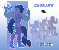 Gem OC Covellite by CarlSagoArt