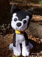 Black Hayate Plush by Bonday
