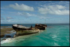 Abandon Ship by TheArtofAdamKnight