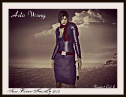 RE6 Ada Wong by IamRinoaHeartilly