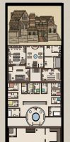 Taven and floor plans by ebony-chan