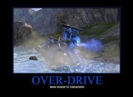Over-Drive Demotivator by Grimful