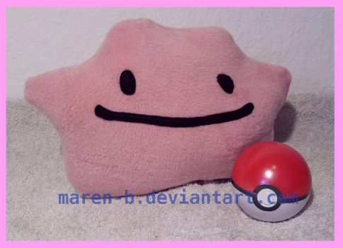 Ditto plushie by maren-B