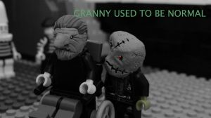 Granny used ot be normal by Carleduardoling
